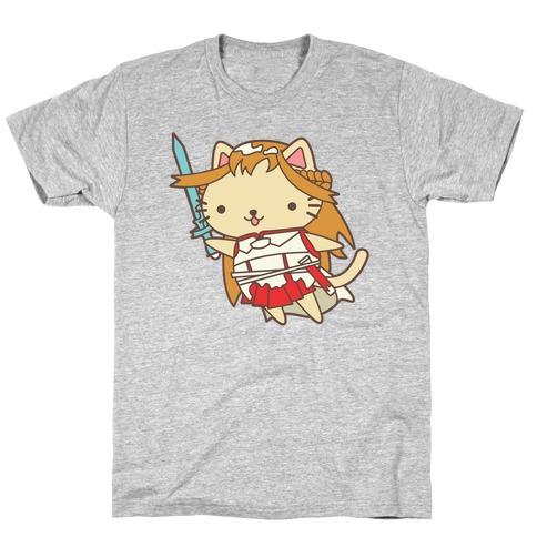 Cat Cosplay Asuna T-Shirt