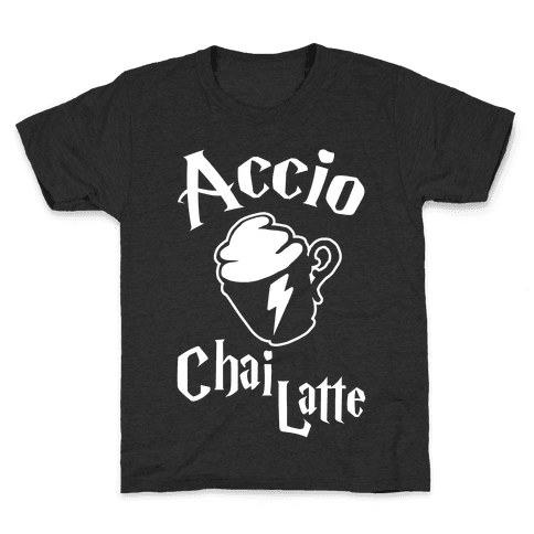 Accio Chai Latte Kids T-Shirt