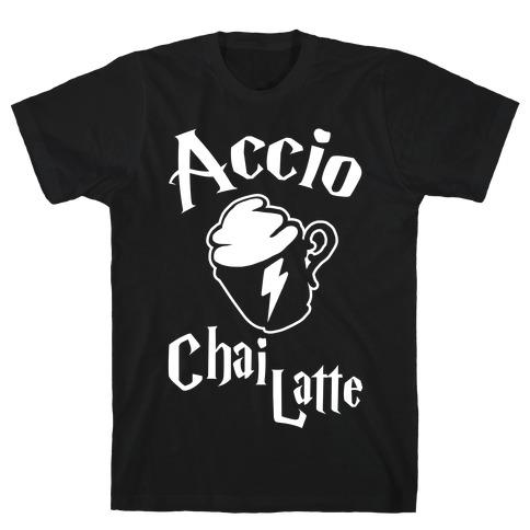 Accio Chai Latte Mens T-Shirt
