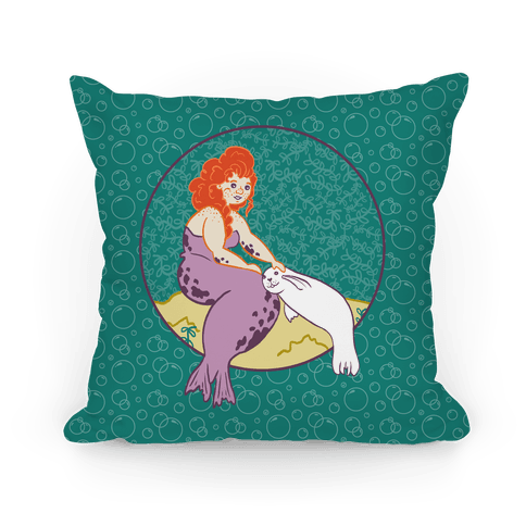 Irish Selkie and Seal Baby Pillow