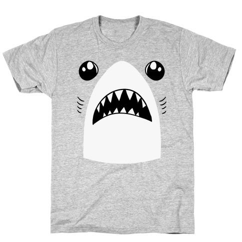 Left Shark Face Mens T-Shirt