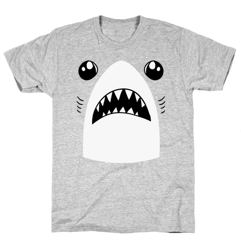 Left Shark Face Mens T-Shirt