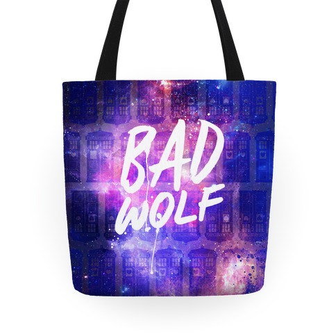 Doctor Who Bad Wolf Tote