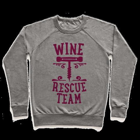 Wine Rescue Team Pullover