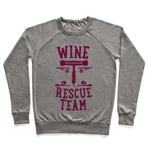 Wine Rescue Team Pullover