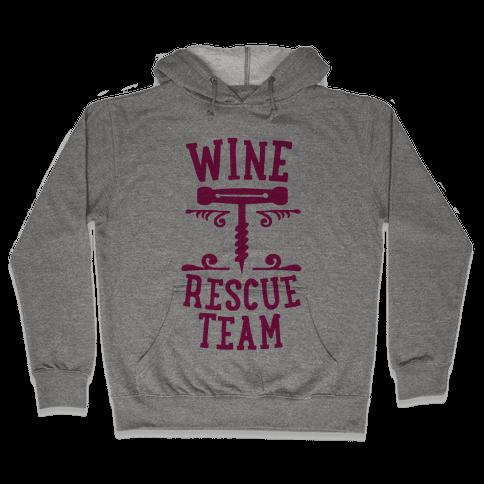 Wine Rescue Team Hooded Sweatshirt