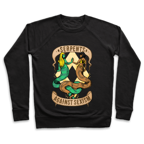 Serpents Against Sexism Pullover