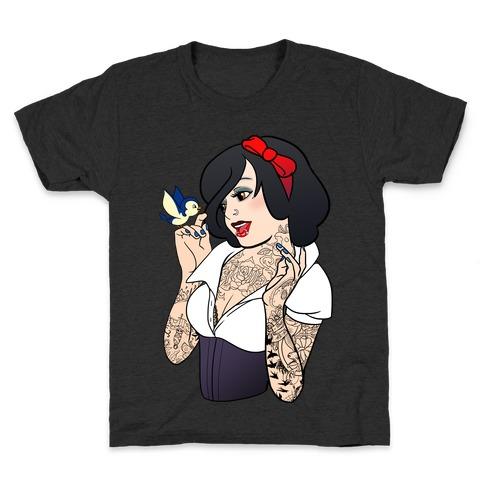 Snow Punk Princess Kids T-Shirt