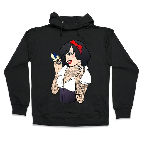 Snow Punk Princess Hooded Sweatshirt