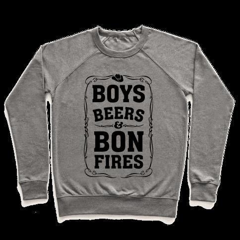 Boys Beers & Bonfires Pullover