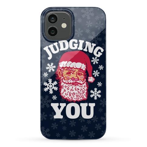 Judging You Santa Phone Case