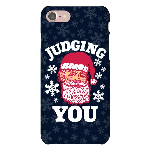 Judging You Santa Phone Case