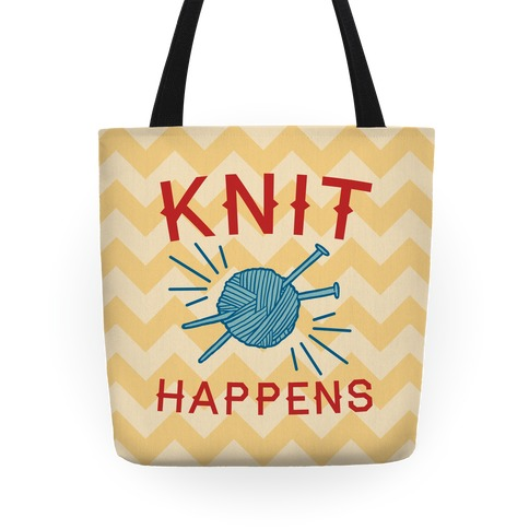 Knit Happens Tote