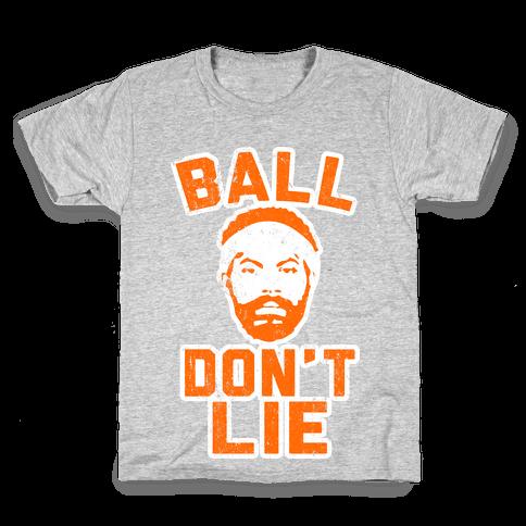 Ball Don't Lie (Vintage Shirt) Kids T-Shirt