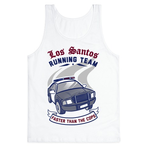 Los Santos Running Team Tank Top