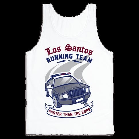 Los Santos Running Team Tank Top