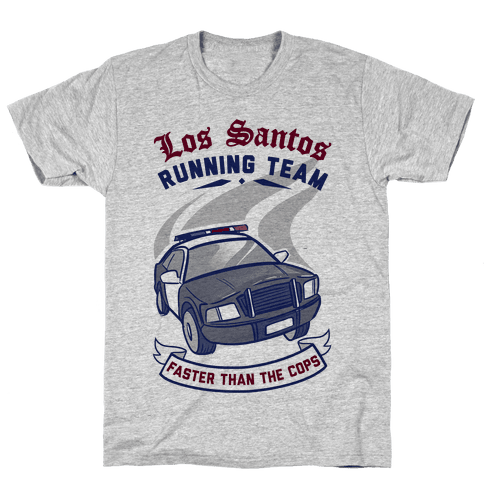 Los Santos Running Team Mens T-Shirt