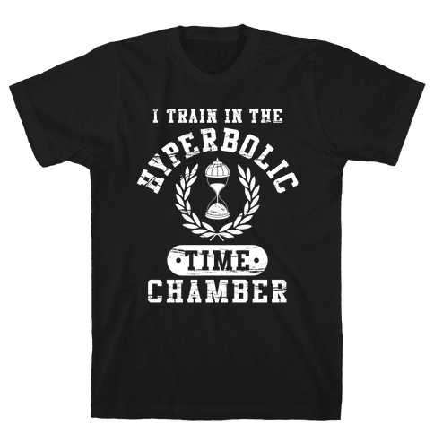 Hyperbolic Time Chamber (Distressed) Mens T-Shirt