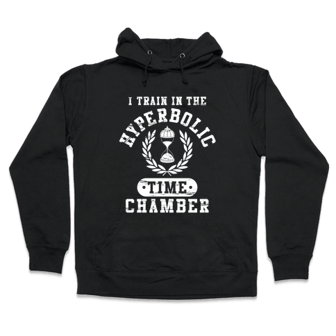 Hyperbolic Time Chamber (Distressed) Hooded Sweatshirt
