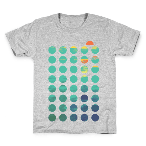 Circles of Summer Kids T-Shirt