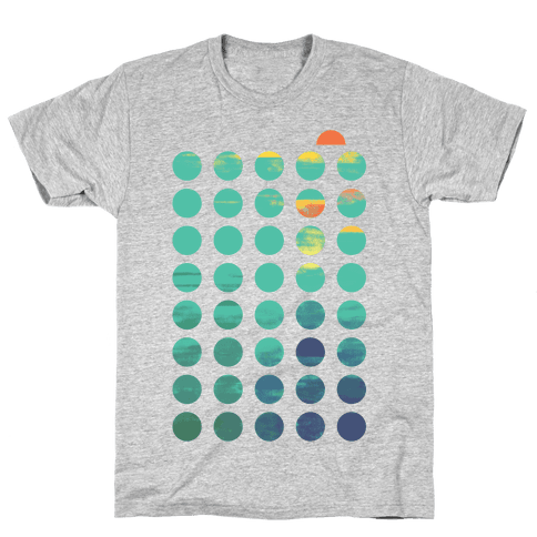 Circles of Summer Mens T-Shirt