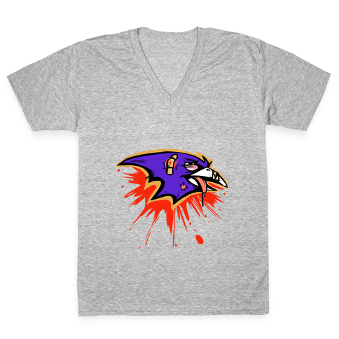 The Only Good Raven... V-Neck Tee Shirt
