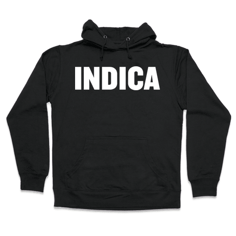 Indica Hooded Sweatshirt