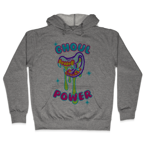 Ghoul Power Hooded Sweatshirt