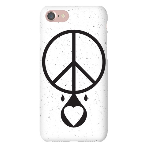 Peace dripping Love Phone Case