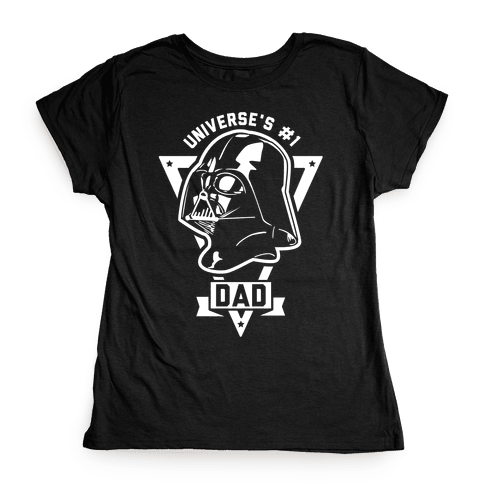 Darth Dad Womens T-Shirt