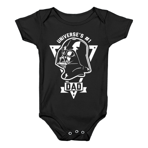 Darth Dad Baby Onesy