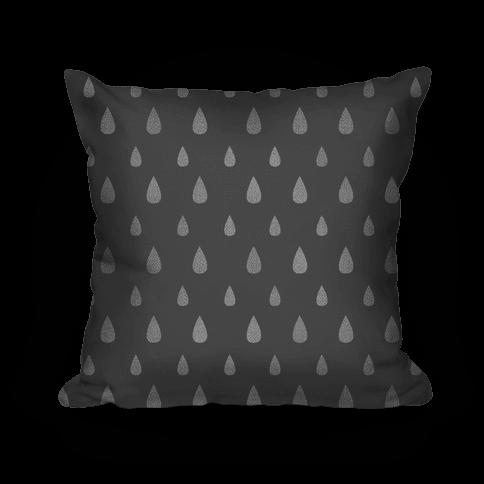 Gray Tear Drop Pattern