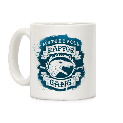 Motorcycle Raptor Gang Coffee Mug
