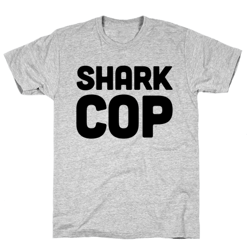 Shark Cop Mens T-Shirt