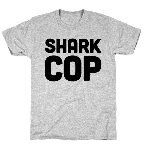 Shark Cop Mens T-Shirt