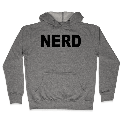 Nerd Hooded Sweatshirt