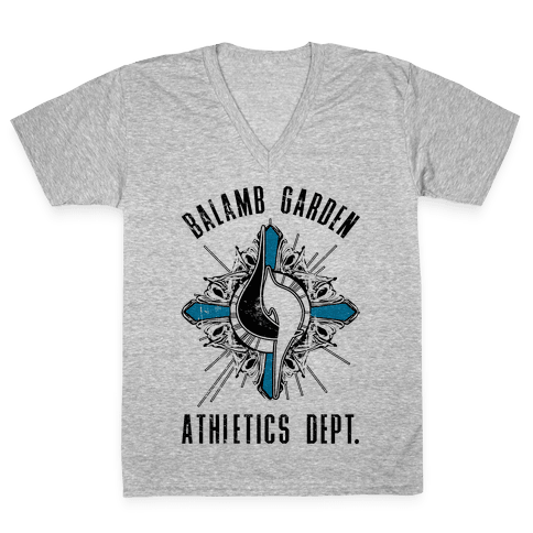 Balamb Garden Athletics Department V-Neck Tee Shirt