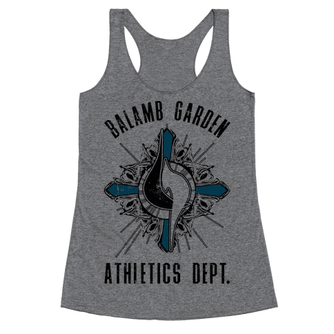 Balamb Garden Athletics Department Racerback Tank Top