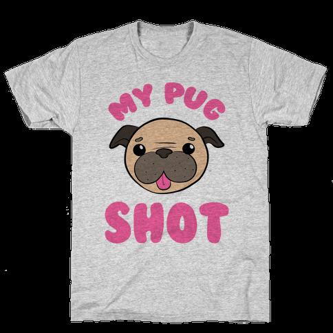 My Pug Shot Mens T-Shirt