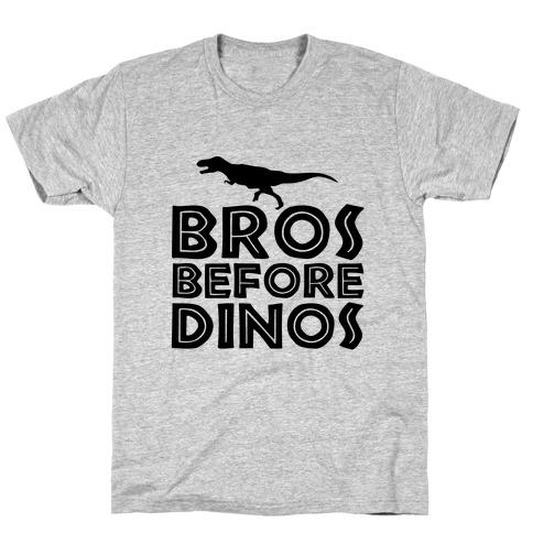 Bros Before Dinos T-Shirt