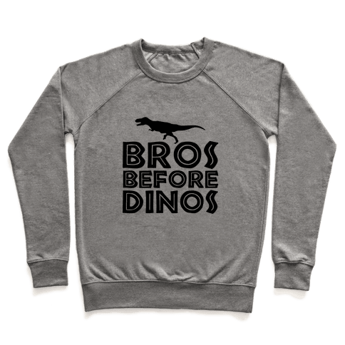 Bros Before Dinos Pullover