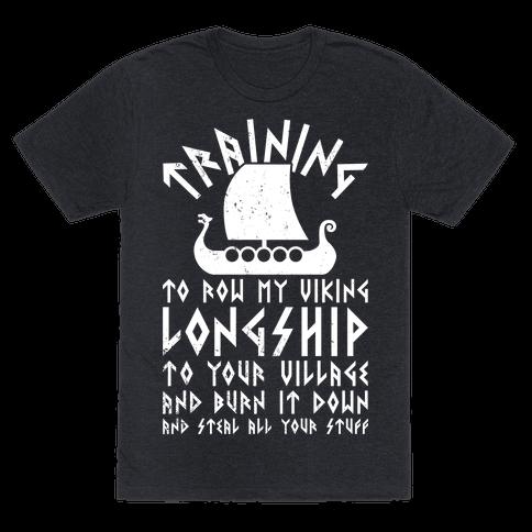 Training To Row My Viking Longship