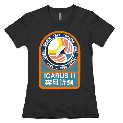Icarus 2 Misson Patch Womens T-Shirt