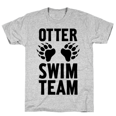 Otter Swim Team Mens T-Shirt