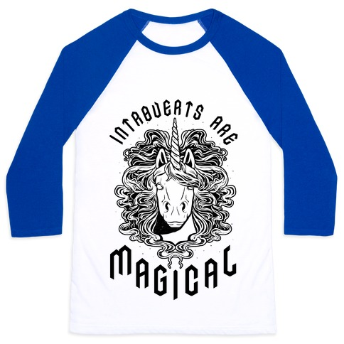 Introverts are Magical Baseball Tee