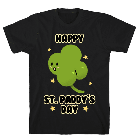 Happy St. Paddy's Day Shambutt Tee Tee Mens/Unisex T-Shirt