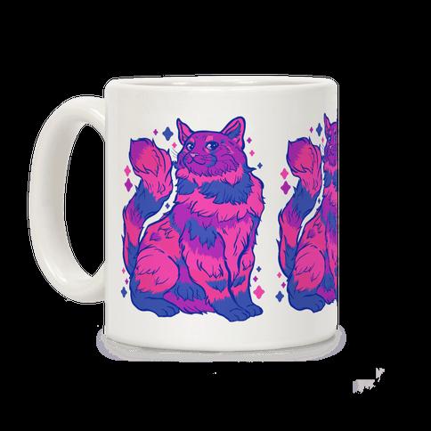 Bisexual Pride Cat Coffee Mug