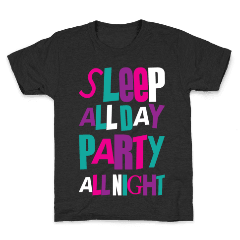 Party All Night Kids T-Shirt