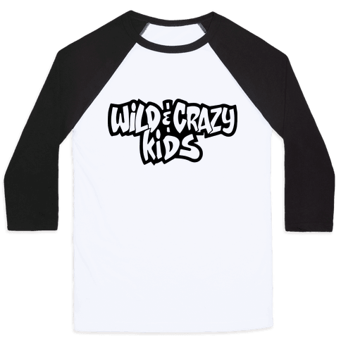 Wild & Crazy Kids Baseball Tee
