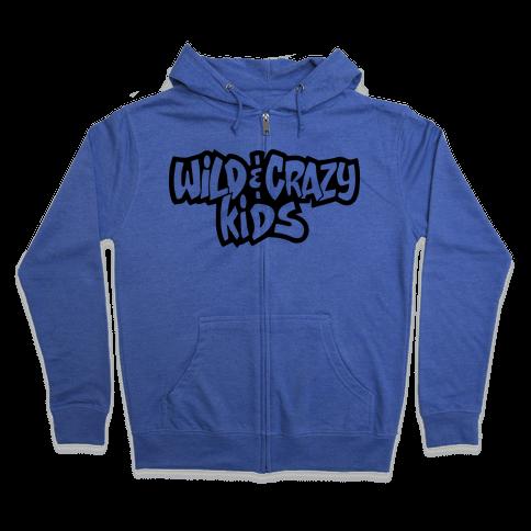 Wild & Crazy Kids Zip Hoodie